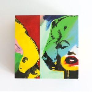 BNIB Marilyn Monroe puzzle in gift box op Art 60s